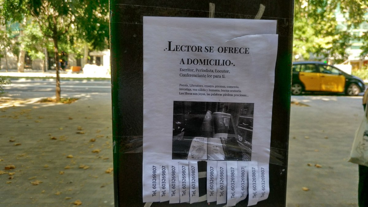 Acabo de ver esto en #Barcelona, y  creo que puedo dedicarme también a ello https://t.co/CxlgyYSQg1