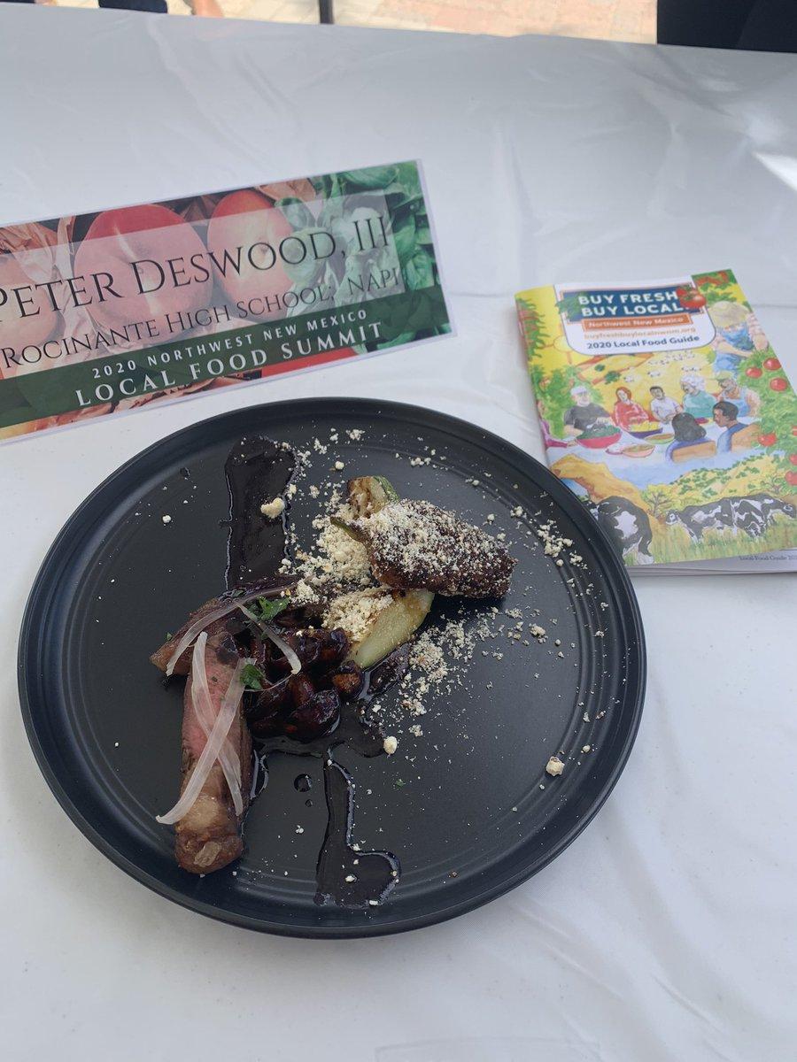 Justin Pioche's plate. Amazing #joltyourjourney #localfood #farmersmarket #buylocal #buyfresh