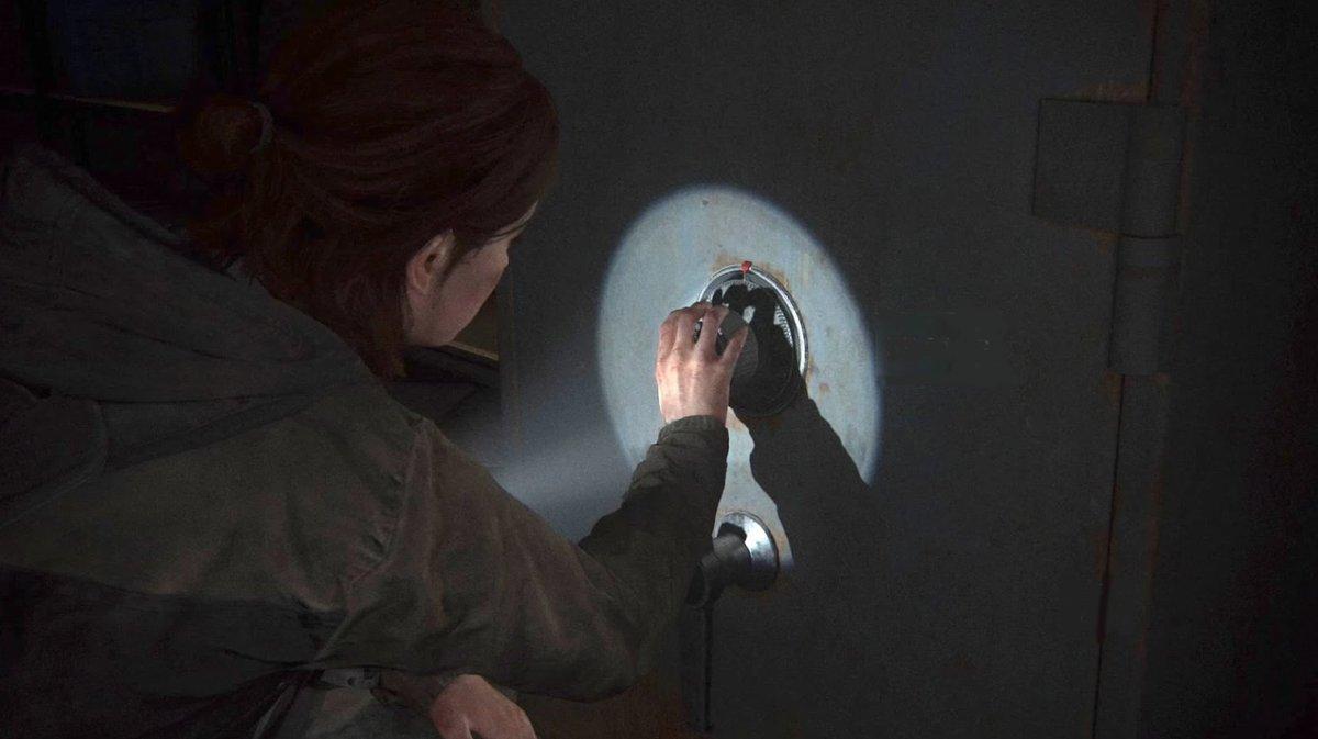 I love cracking safes in The Last of Us Part 2: https://t.co/fzooMJUJEp https://t.co/jiB8hMVcvk