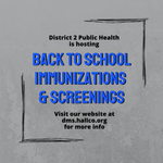 Image for the Tweet beginning: District 2 Public Health is