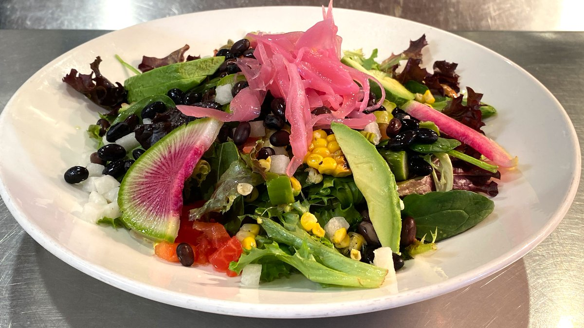 When you're looking to eat more vegetables, look no further than our Black Bean Veggie Salad!