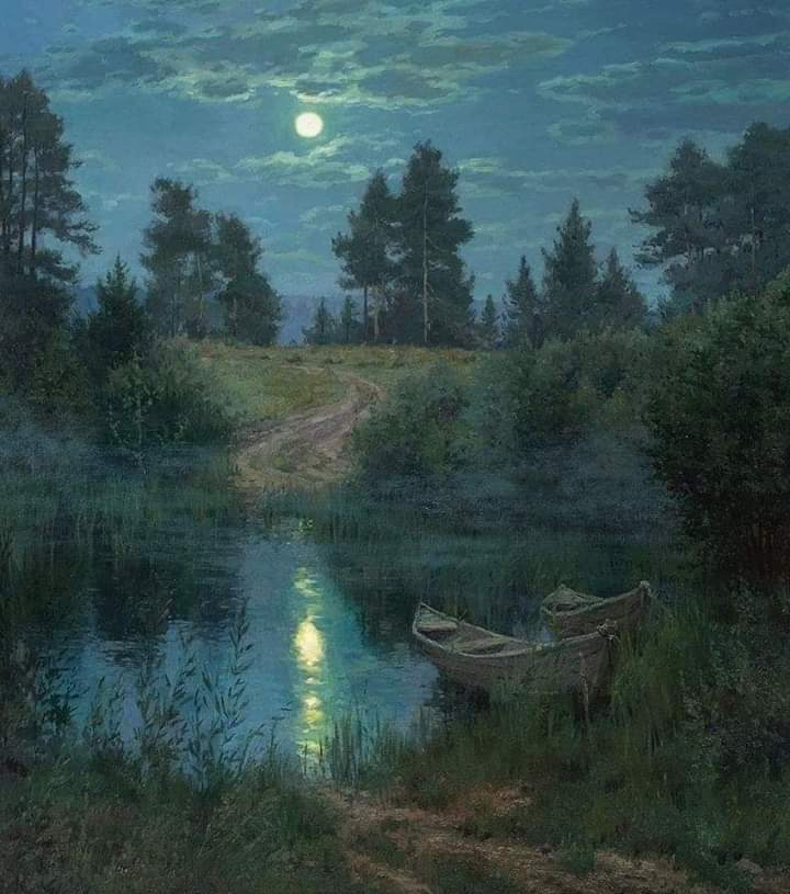 A cloud does not know why it is moving in a certain direction and at a certain speed an impulse...But the sky knows the reasons and patterns beyond the clouds,and you too will know them, when you hover high enough to see the horizon -R.Bach #art Stanislav Brusilov TheEdge ofNight