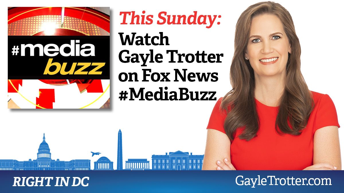 Joining @MediaBuzzFNC @FoxNews tomorrow morning at 11 am ET.