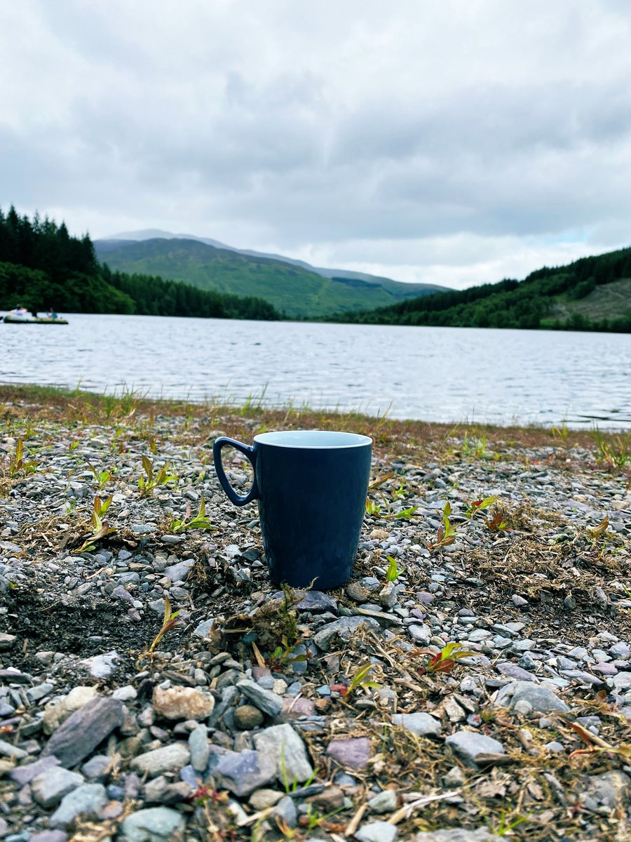 How lucky are we to live in #Scotland #TheTrossachs even the #coffeeshop has views to die for #familytime #ThreeLochs #reflections #views #SocialDistancing #noonehere #stayaway #BenAan #getoutside #getoutdoors #coffeebreak #coffee https://t.co/3V1jy8UOUp