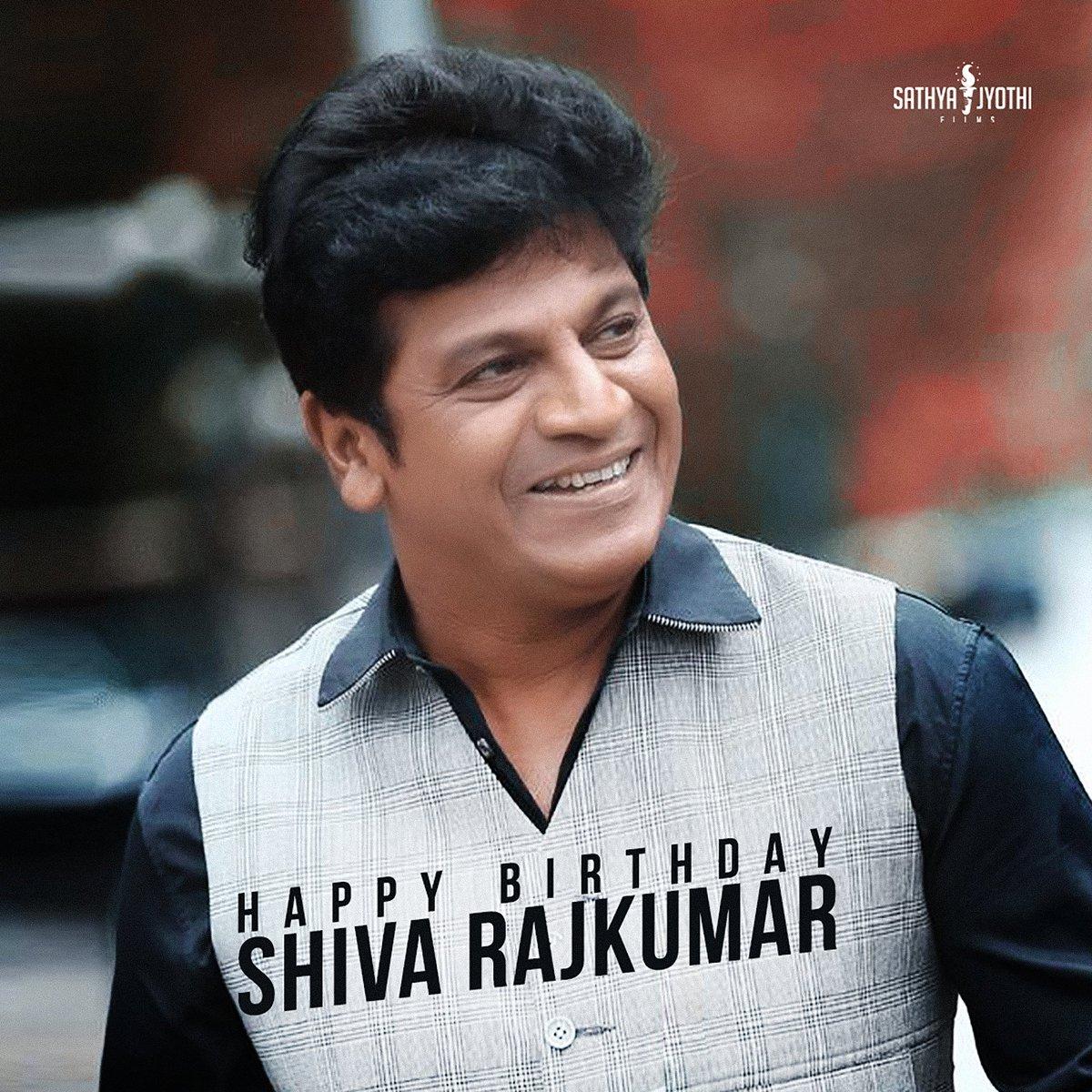 Replying to @SathyaJyothi_: Wishing Karunada Chakravarthi @NimmaShivanna A Happy Birthday.  #HBDShivanna