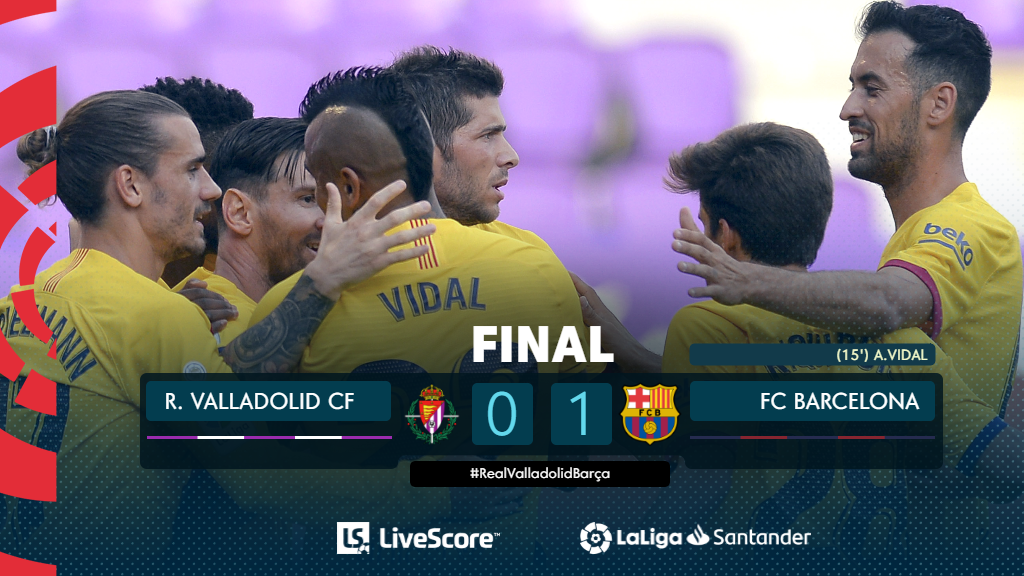 Real Valladolid-FC Barcelone