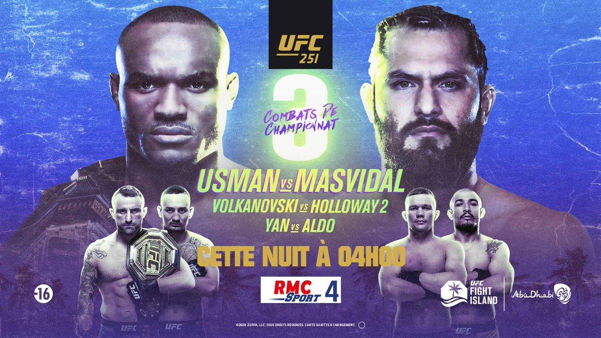 🚨💥 Prise dantenne dès 02:00 pour suivre la carte préliminaire avec notamment le combat de Volkan Oezdemir 🇨🇭 #UFC251