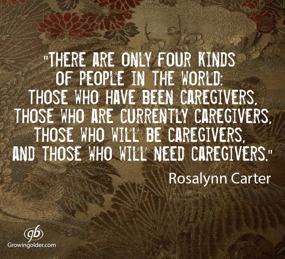 Please reTweet if you agree: #Caregiving isn't always a choice. But how you give care and how it changes what you value in life, those are choices.  #dementia #Alzheimers #quote https://t.co/AkR7lOXH0x