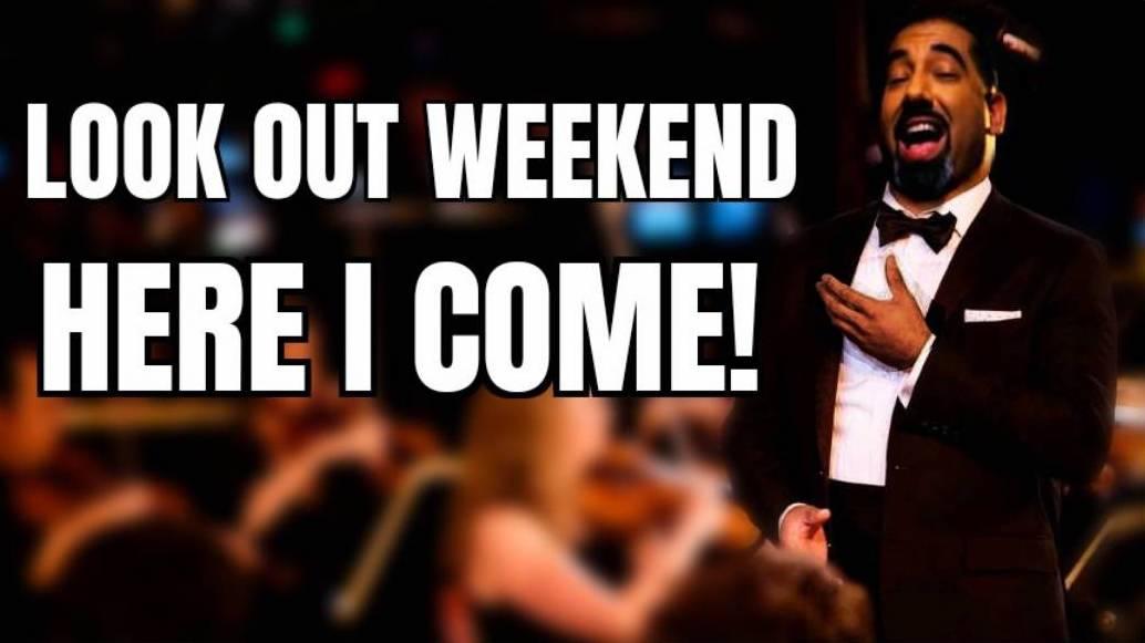 Look Out Weekend Here I Come!#Opera #weekendmood pic.twitter.com/HaLzla50AJ