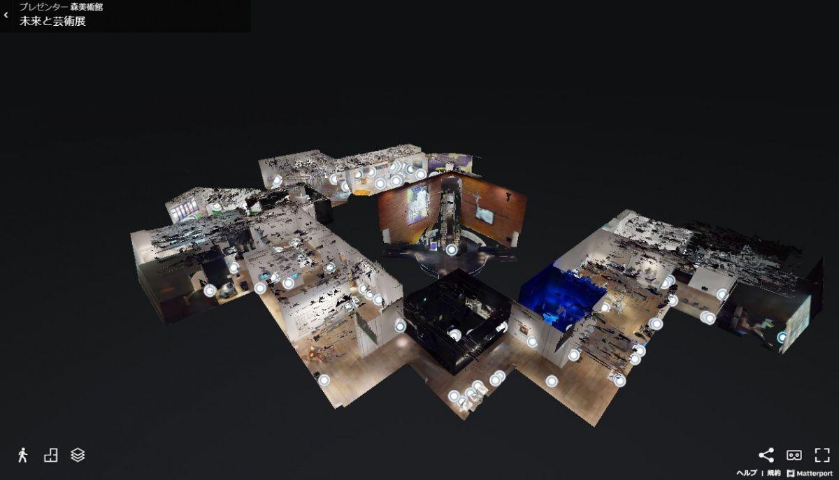 森美術館が『未来と芸術展』の3Dウォークスルーを公開。VRの最前線を ITジャーナリスト林信行が語る。