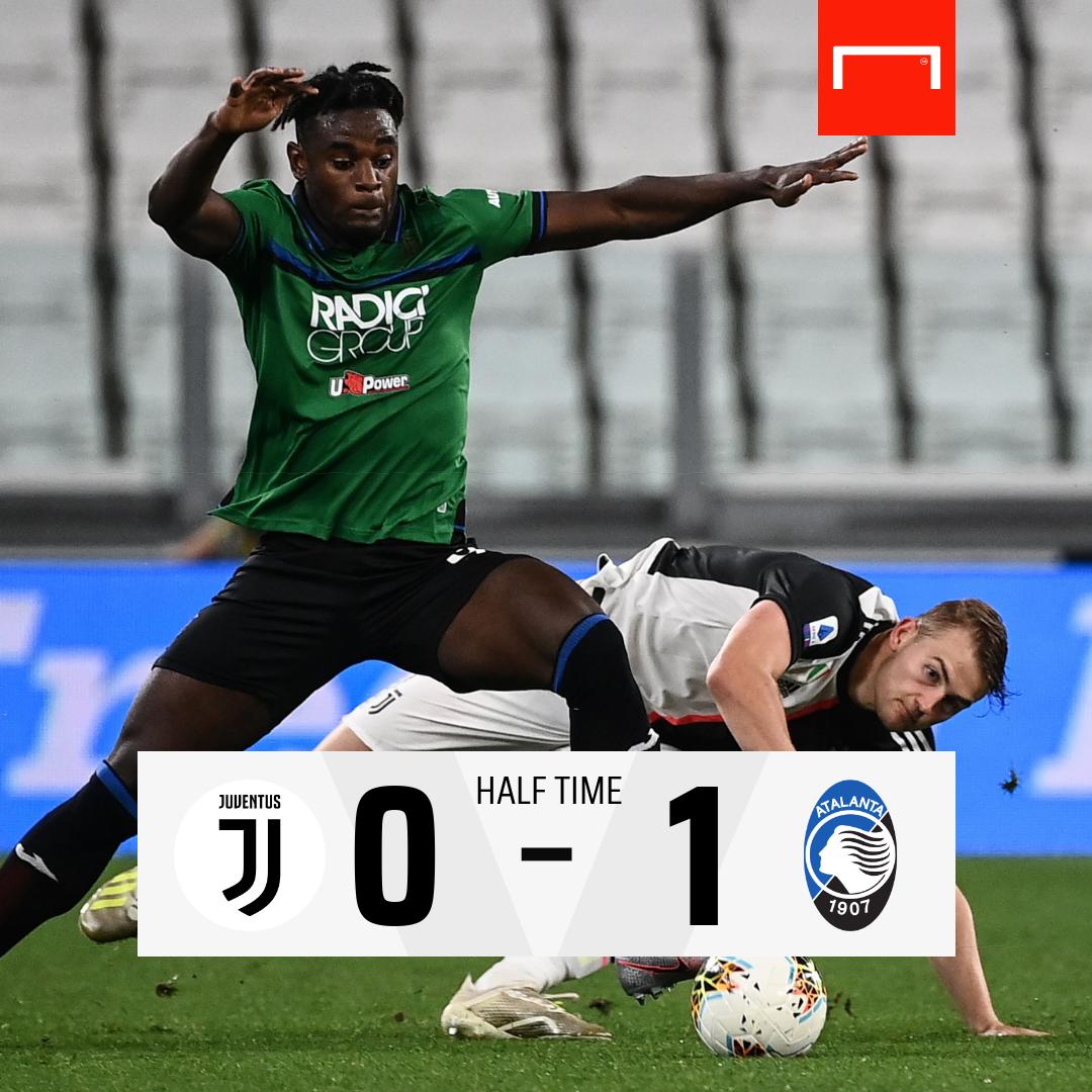 #HT จบครึ่งแรก เซเรีย อา คู่แข่งขัน 2.45 น.  ยูเวนตุส 0-1 อตาลันต้า  ⚽ น.16 ดูวาน ซาปาต้า  #GoalThailand #ฟุตบอลต่างประเทศ #SerieA #Juventus #Atalanta  https://t.co/I3wpKvj60P https://t.co/bCGP38halg