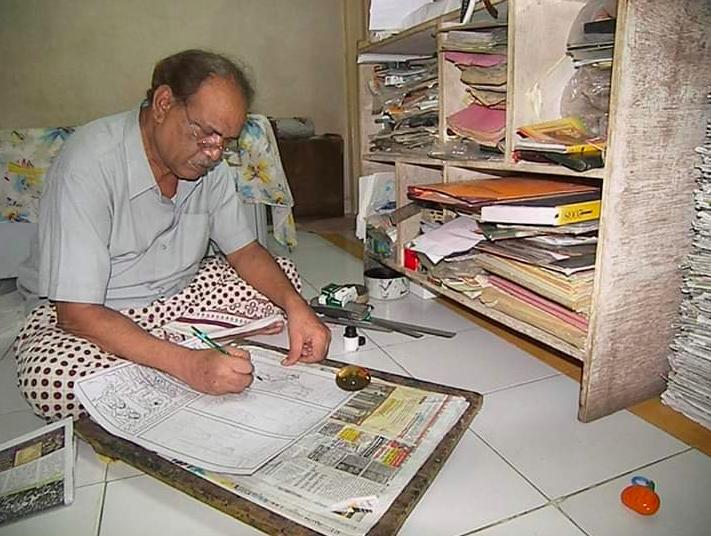 Renown Gujarati cartoonist AH Jami passes away