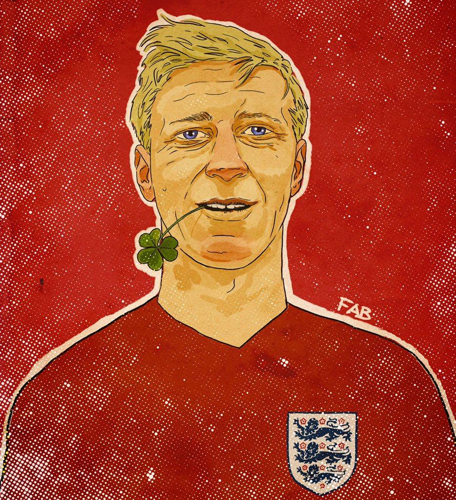 Jack Charlton, World Champion. #JackieCharlton #1966WorldCup #Eire #England #leedsunited #FootballArt https://t.co/artY342VeW