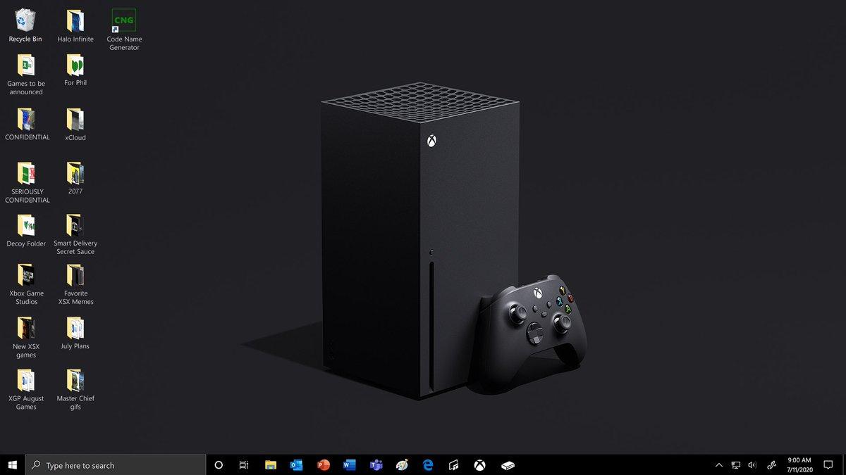 Marketing fantastico di #Microsoft per questa nextgen, proprio su un altra piano rispetto a Sony, che spettacolo pic.twitter.com/xoO9Zqmqt2