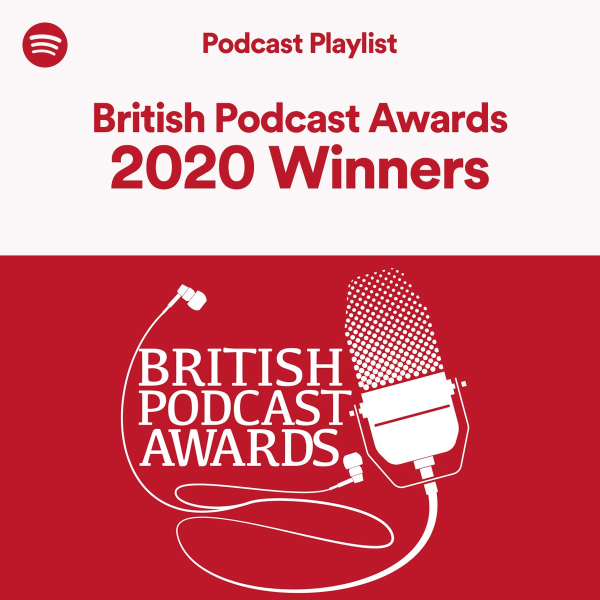 Your 2020 @britpodawards winners 👏 #britpodawards spoti.fi/3iQ1j2c