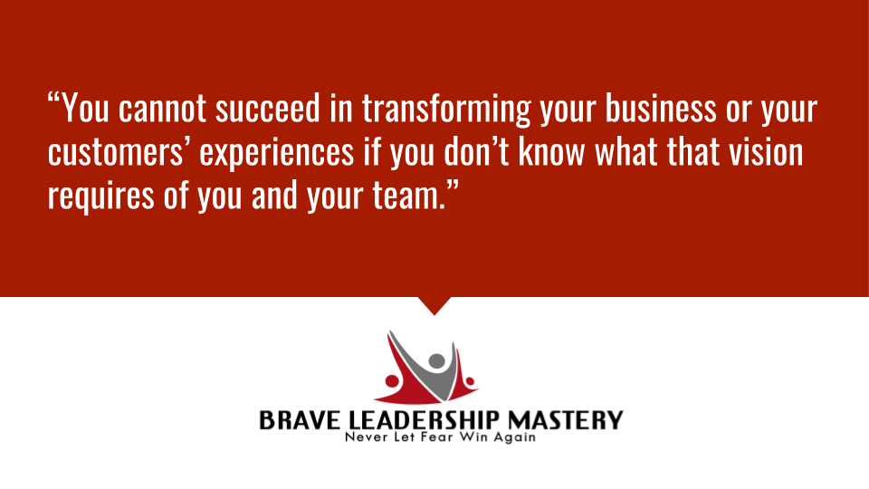 """""""You cannot succeed in transforming your business or your customers' experiences if you don't know what that vision requires of you and your team."""" https://t.co/F3flAAVjBF #innovation #disruptive https://t.co/eNw28Lyg8f"""