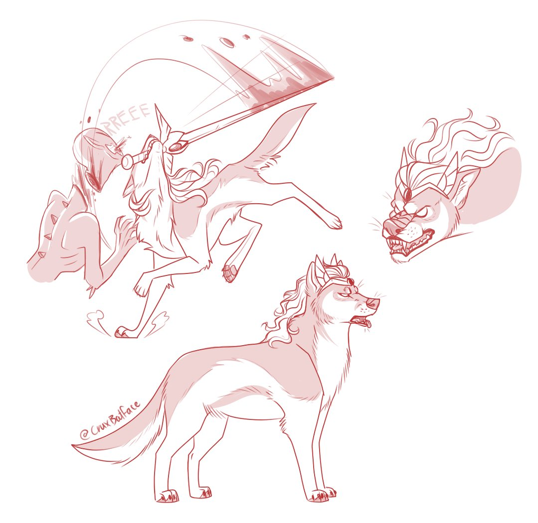 Alucard can canonically transform into a wolf,  so I went ahead and did a concept for Alucard!Adora.  Unpopular opinion: I'm not a huge fan of the heavy representation of wolves in pop culture. I think there are more interesting animals to portray (like bats) but that's just me! <br>http://pic.twitter.com/r5KyK6X3jE