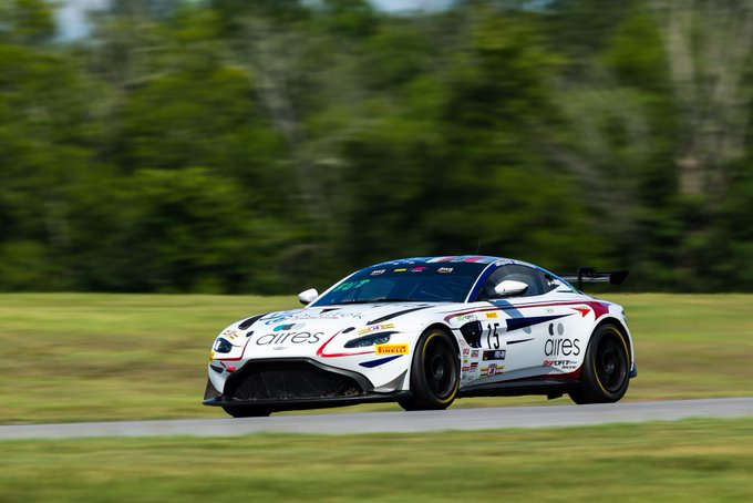 More success for the @AMR_Official…