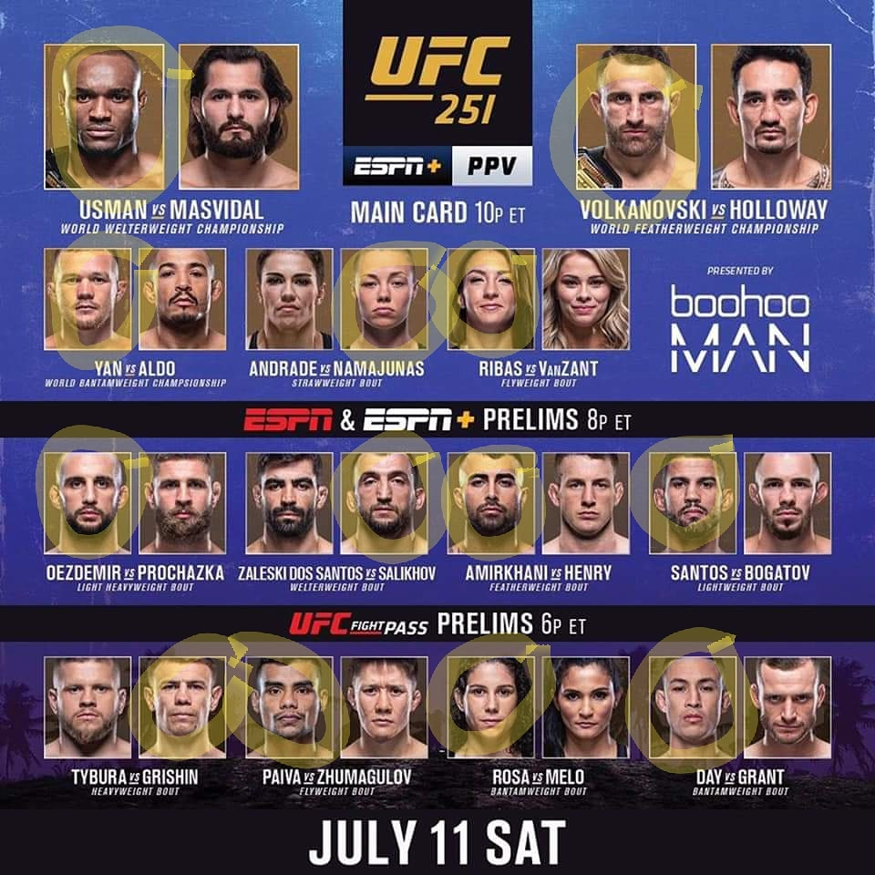 """If my picks are anything like the last #ufc, it's safe to bet against my predictions  However, I am usually right, even though I'm no @bullyb170 (they call him """"Mystic Muhammad"""" because he predicts deez tings)  #ufc251 #ufcfightisland https://t.co/gZrtSKnbAc"""