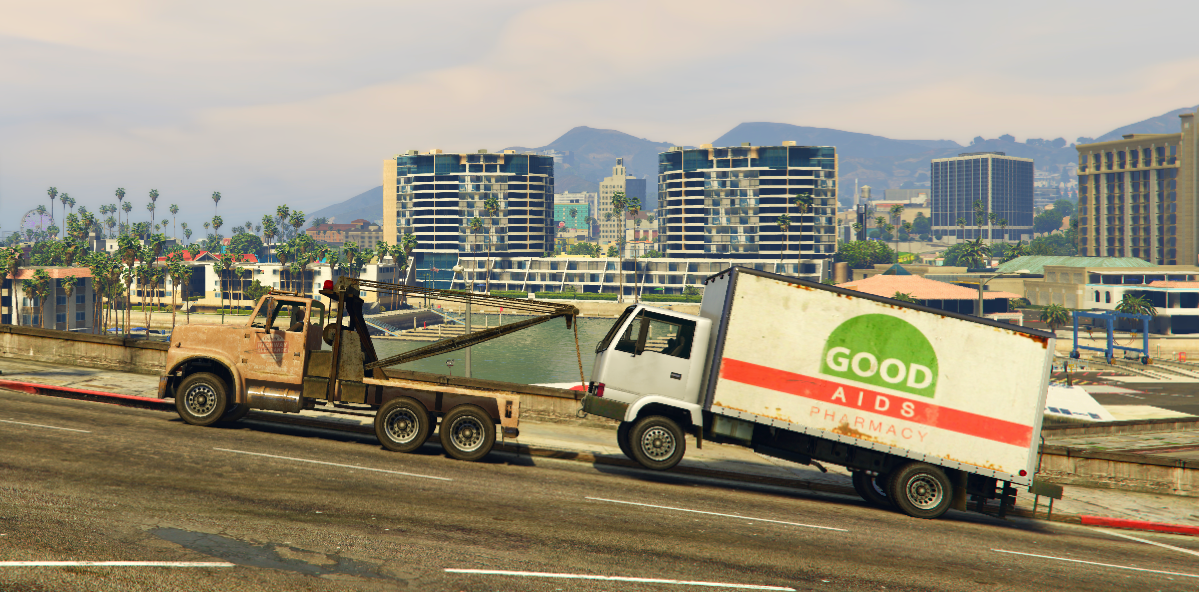 Notre petit James travaillait encore  hier soir sur le système de la dépanneuse  #twotruck #flatbed #GTAV  #gta5 #roleplay #gtaroleplay #gtarp #midnightrp #gtamidnight #james #dev https://t.co/NxFwFO0x17