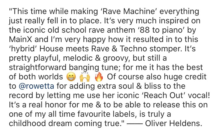 . @OliverHeldens is one of the biggest and most creative and talented stars in the world. He didn't have to credit me, most don't. I really cannot thank him enough 🙌🏽❤️ https://t.co/P1SlUqD065