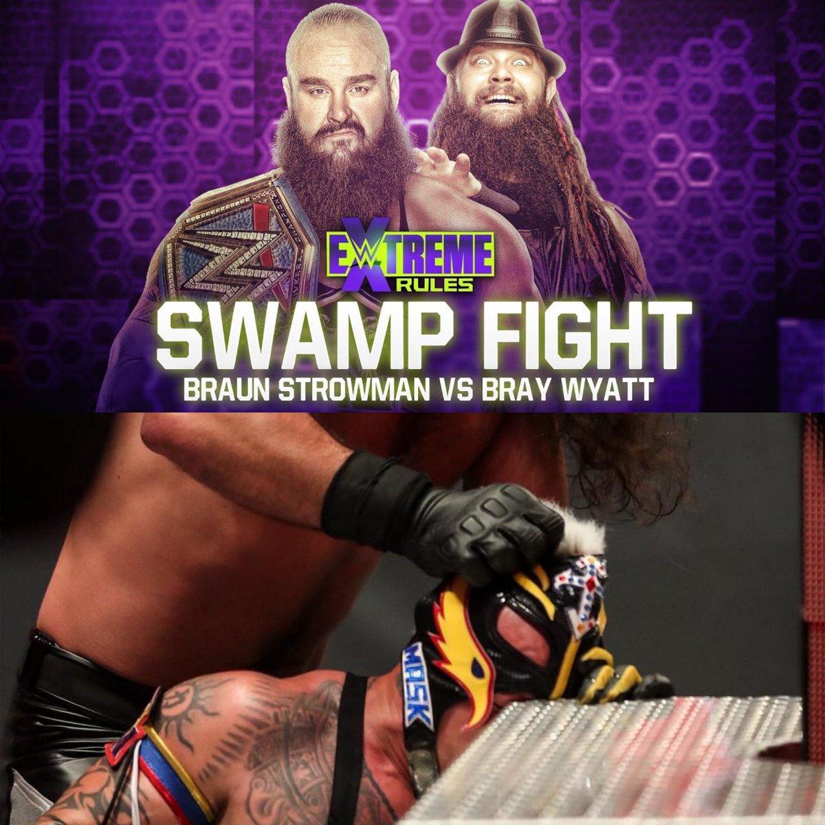 El domingo 19 de Julio WWE emitirá dos combates cinemáticos en Extreme Rules   #WWExFOX #WWE #ExtremeRules #Deportes @WWEonFOX #FoxAction https://t.co/kisr3VgCEo
