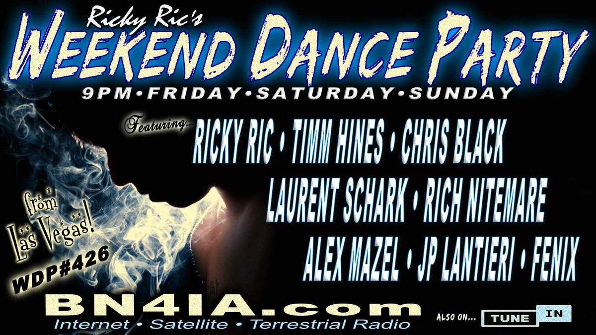 #NowPlaying #LIVE❗ @RickyRicMix's #WDP426 ⚡ On @BN4IA #Radio #NewYork❗ Tune In Here ☞ https://t.co/V0dagP90Wn & https://t.co/8kAacxdxAC ☜ #radio #dance #trance #house #edm #DJSets #DJs https://t.co/BlV6Q9pQlJ