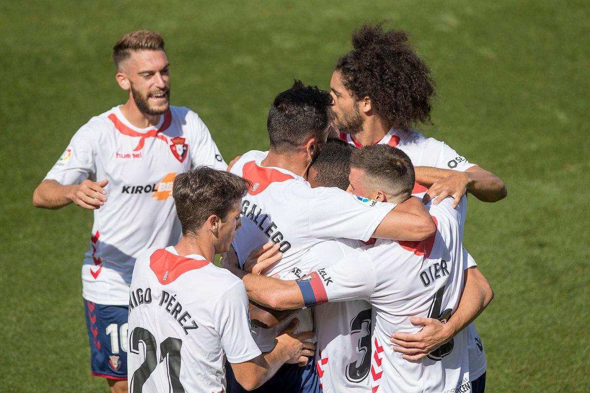 Jornada 36  Osasuna derrotó 2-1 Celta de Vigo  Valladolid 0-1 Barcelona  Atletico Madrid 1-0 Betis  Barça ejerce presión, se pone a 1 punto del Real Madrid que juega el lunes vs Granada.  #LaLiga https://t.co/VJf6Rbl8g7