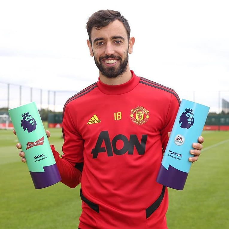 The awards keep coming for @B_Fernandes8. BRUNO BRUNO BRUNO! #ManUnitedCaribbean #MUSC #joinMUSC #manchesterunited #MUFC #GGMU #RedDevils #PremierLeague #oldtrafford #keepgrinding #SaturdayMotivation #brunofernandes #BrunoDay #POTM #GOTM https://t.co/Nw1QRsTwtA