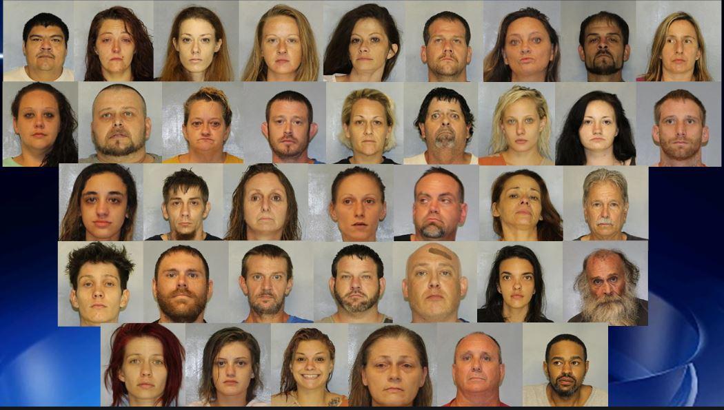 48 people arrested in north Georgia drug trafficking bust, officials say: https://t.co/ngKlUlRwVa https://t.co/z7jvfzUGUs