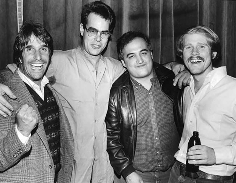 The Fonz, the Blues Brothers and Opie Cunningham.
