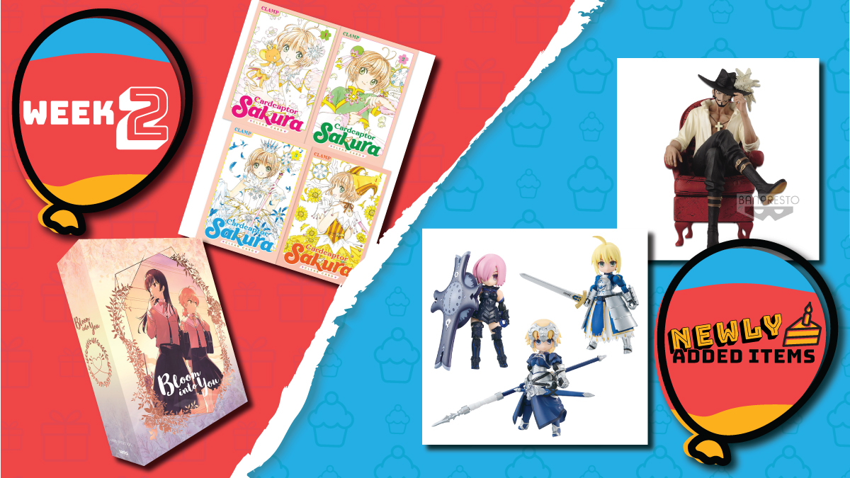🚨LAST CHANCE 🚨 to shop Week 2 of #BirthdaySale! Dont miss out on these deals! 👉 rsani.me/pa409 While youre at it, pick up some newly added items 😏 Dracule Mihawk 👉 rsani.me/0fyvy Fate/Grand Order Blind Figure Box 👉 rsani.me/w3fmw #Anime