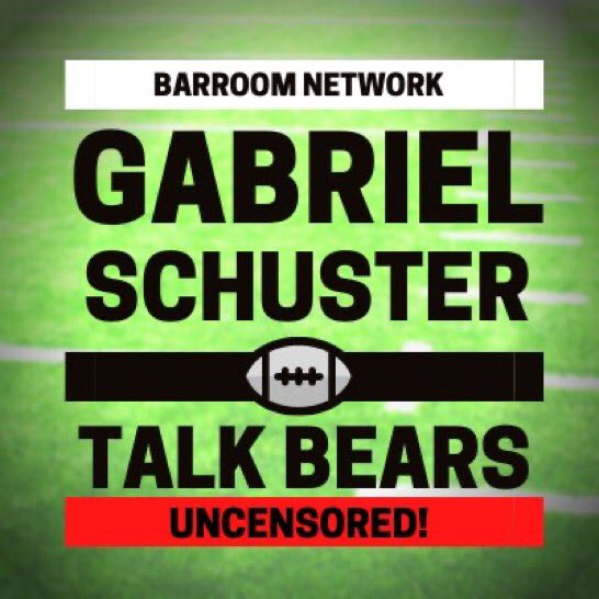 Starting next week my good friend @Schumouse and I will begin the Gabriel & Schuster talk Bears podcast on the @BearsBarroom network. Tune I. For som great Chicago Bears analysis