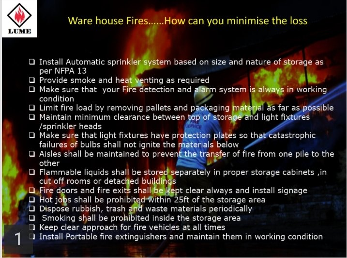 Let us protect our Warehouse #FireSafety #FireSafeIndia #dowecare @beyondcarlton @ficci_india @KarFireDeptpic.twitter.com/7bC1DfRtVn