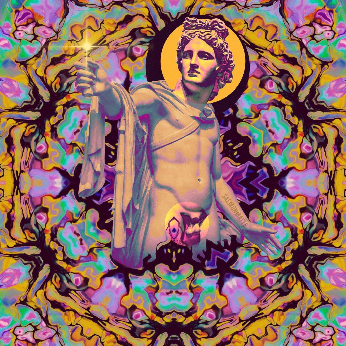 """Starlight(er)"" License this piece for your next creative project via @ArtgrabCo  #albumart #kaleidoscope #trippyart pic.twitter.com/2ejT8RcGLQ"