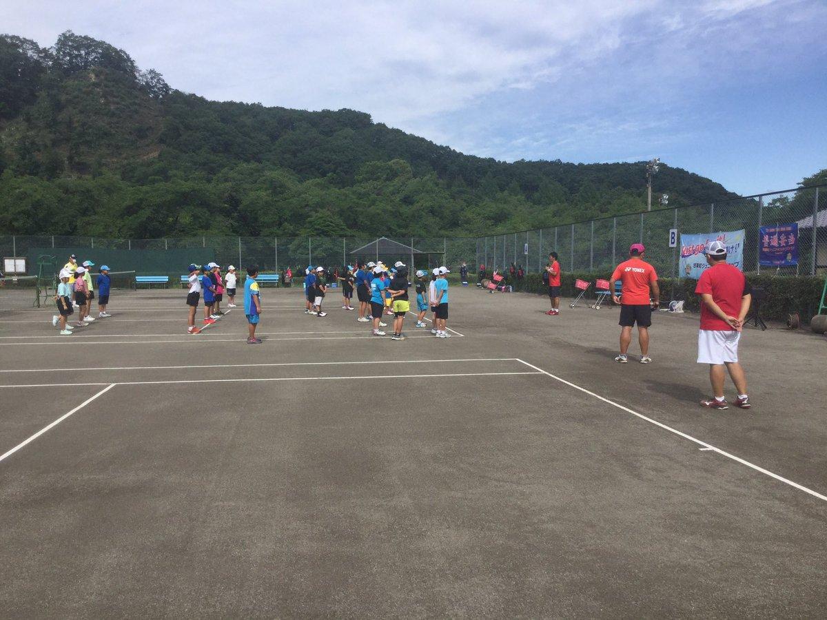 第2回 浅川アカデミー始まります。 #浅川陽介 #ソフトテニス #ヨネックス https://t.co/KShlUNnHNc