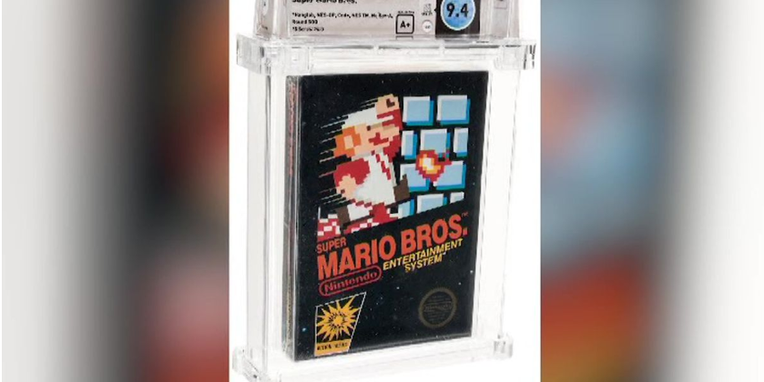 An unopened copy of a vintage Super Mario Bros. video game has been sold for $114,000 in an auction that underscored the enduring popularity of entertainment created decades ago. https://t.co/yPhoRRR9Qa https://t.co/P5b95NBhqm