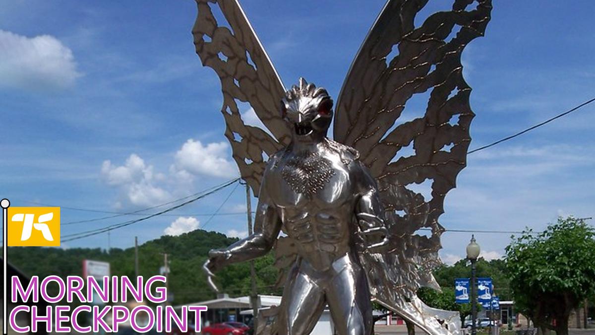We need more Mothman statues: https://t.co/uwF8roMznc https://t.co/mJQaCtuaAX