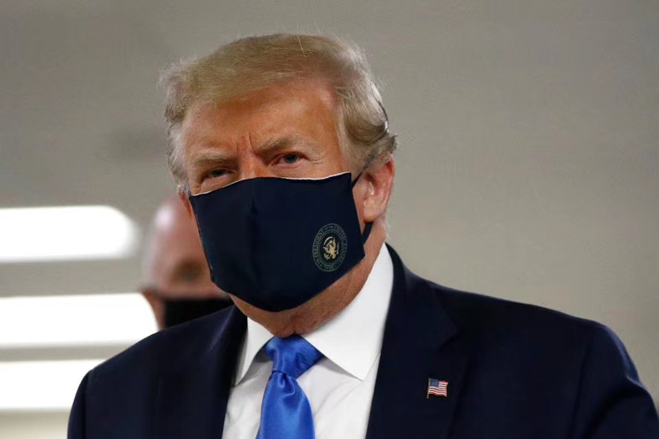 @CPTJeanLafitte @FOX26Houston Why trump going soft and wore a mask