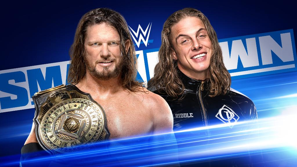 The #Phenomenal @AJStylesOrg will put the #ICTitle on the line against @SuperKingofBros NEXT WEEK on #SmackDown! https://t.co/8sLRgz79Bg
