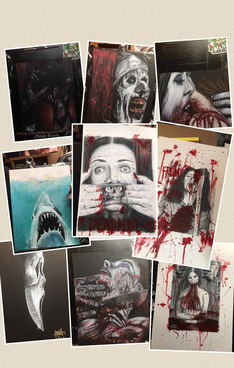 FOR YOUR CONSIDERATION   #Weekend #giveaway #GiveawayAlert #art #horror   Giving away a print by @NhnfPencil  Your choice of print from dozens of great choices.   Drawing this Monday night.    It's easy,  just retweet for a chance to win.  #HorrorFamily #HorrorArt  #movies pic.twitter.com/9MgX137EHc