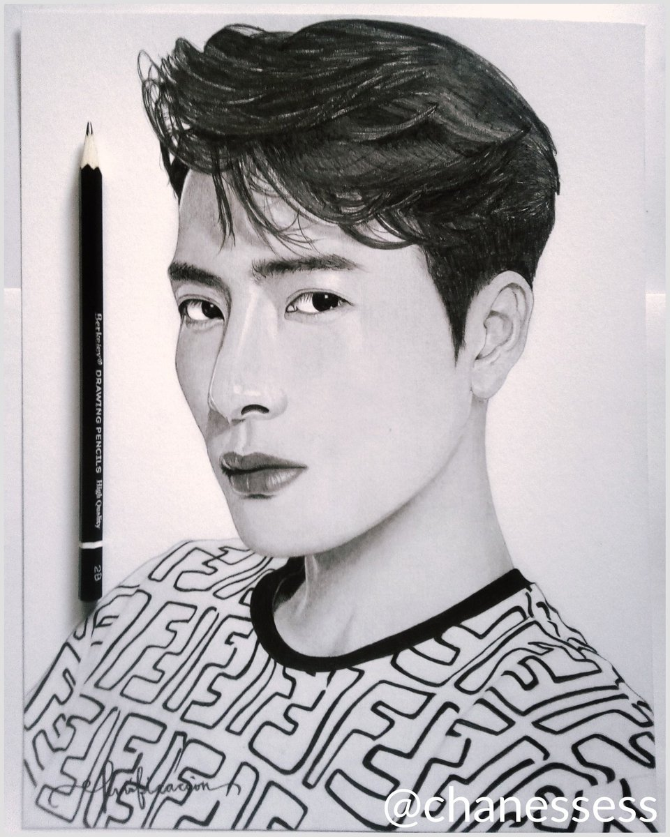 """Let's make history"" — @JacksonWang852  (≧▽≦)  #art #artist #sketch #portrait #portraiture #graphite #graphiteportrait #graphitesketch #graphitepencil #blackandwhite #jacksonwang #teamwang #GOT7 #잭슨 #갓세븐pic.twitter.com/XTsNoDozXt"