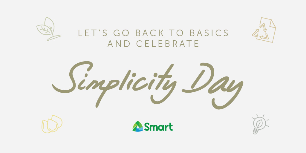 Today, let's take time back to free ourselves from unnecessary burdens that weigh us down.  Let's go back to being simple. #SmartAko https://t.co/4uW3r3OFUh
