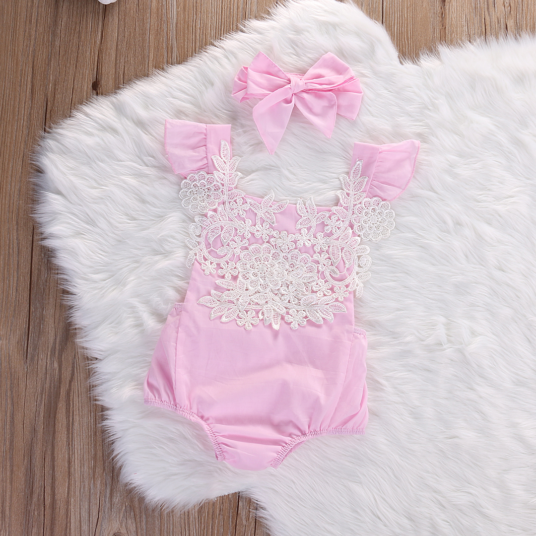This 2 Pcs Baby Girl's Sleeveless Lace Floral Romper has cuteness overload written all over it! Not a Baby World customer? Click the link in our bio to register. #baby #babyworldnz #babyboy #babygirl #babyshower #babylove #babyfashion #babybump