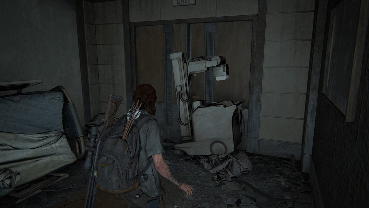 As a radiologist Technologist, very happy to see @Naughty_Dog focusing on these small details, nothing missed them. #TLOU2 #TheLastofUsPartII #TheLastofUsPart2pic.twitter.com/Sh97hl7t6J