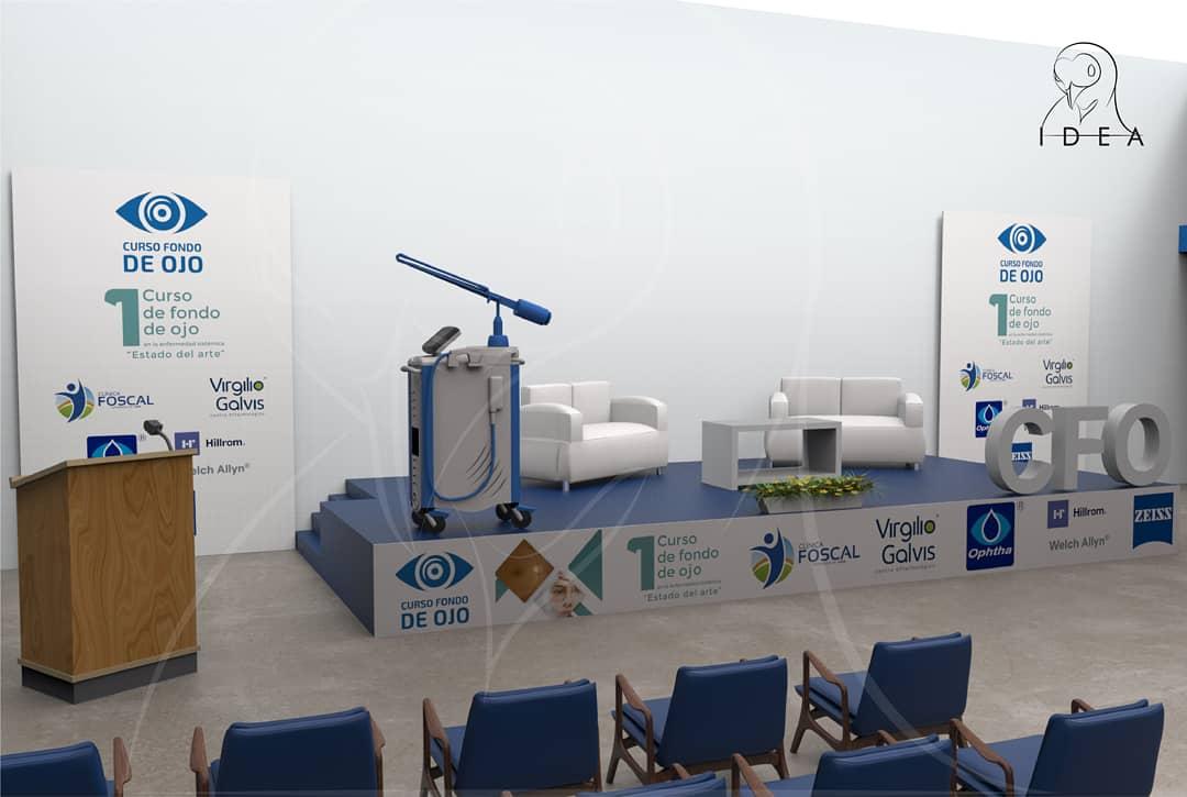 Diseño, producción y montaje de uno de los eventos más destacados del sector médico ocular del oriente en Colombia. Somos una fábrica de GRANDES ideas. By: @idea_agenciacol  #designinspiration #designcomercial #diseñoindustrial #industrialdesign #eventos #diseñodeespacios