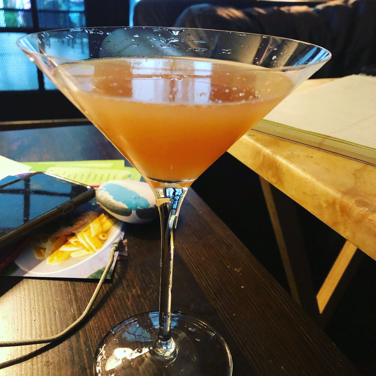 @victoriaaprice4 Like this homemade grapefruit gimlet from The Top?