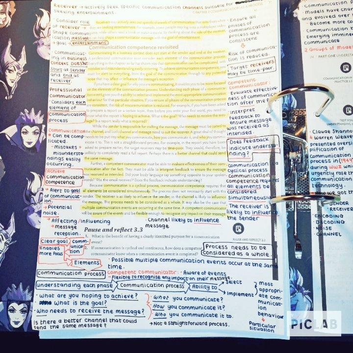 Studying a week b4 semester 2 starts #studynotes #studyingpic.twitter.com/q1dXMJwYmV