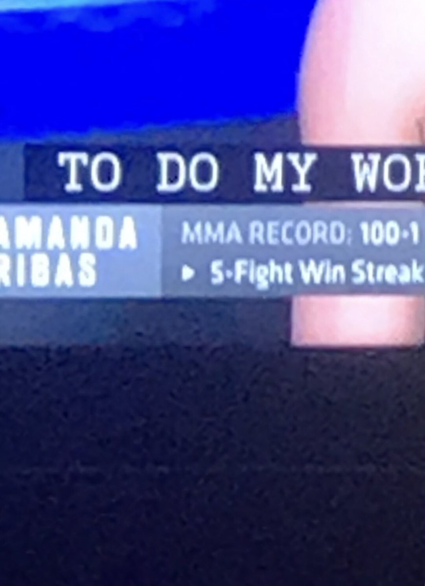 Amanda Ribas has a helluva mma record🤨 #ufc251 https://t.co/kse0EZm5uw