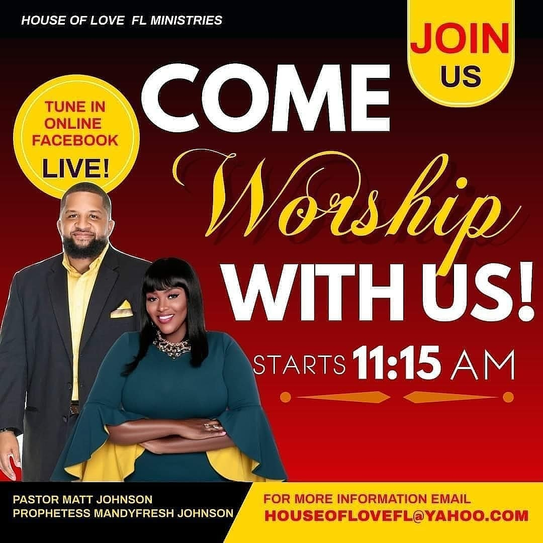 """Please join us tomorrow VIRTUALLY at House of Love Ministries Inc. for our Sunday Morning Worship Service  """"Enduring The Pruning"""" (John 15) (Note: If you would like to attend in person, please email us: Houseoflovefl@yahoo.com) #Church #Ministry #Love #HouseofLoveFL #Jesuspic.twitter.com/K5F61zuEDZ"""